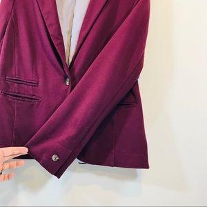 Cato Jackets & Coats - Cato Burgundy One Button Blazer - #1248